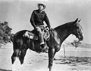 Gary Cooper In 'It's A Big Country'